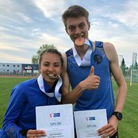 MČR na 10 000 m přineslo dvě medaile