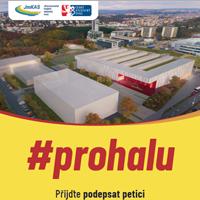 Petice za výstavbu brněnské haly