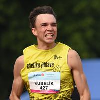 Kubelík ozdobil MČR národním rekordem